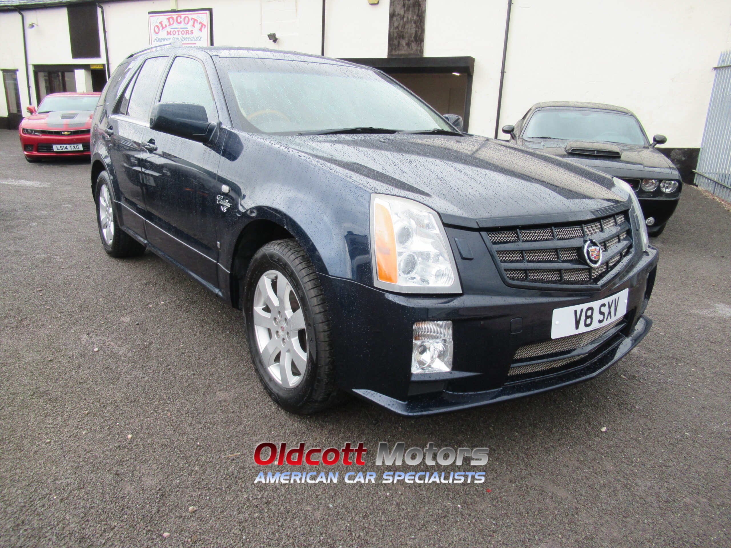 2009 REGISTERED CADILLAC SRX (right hand drive)