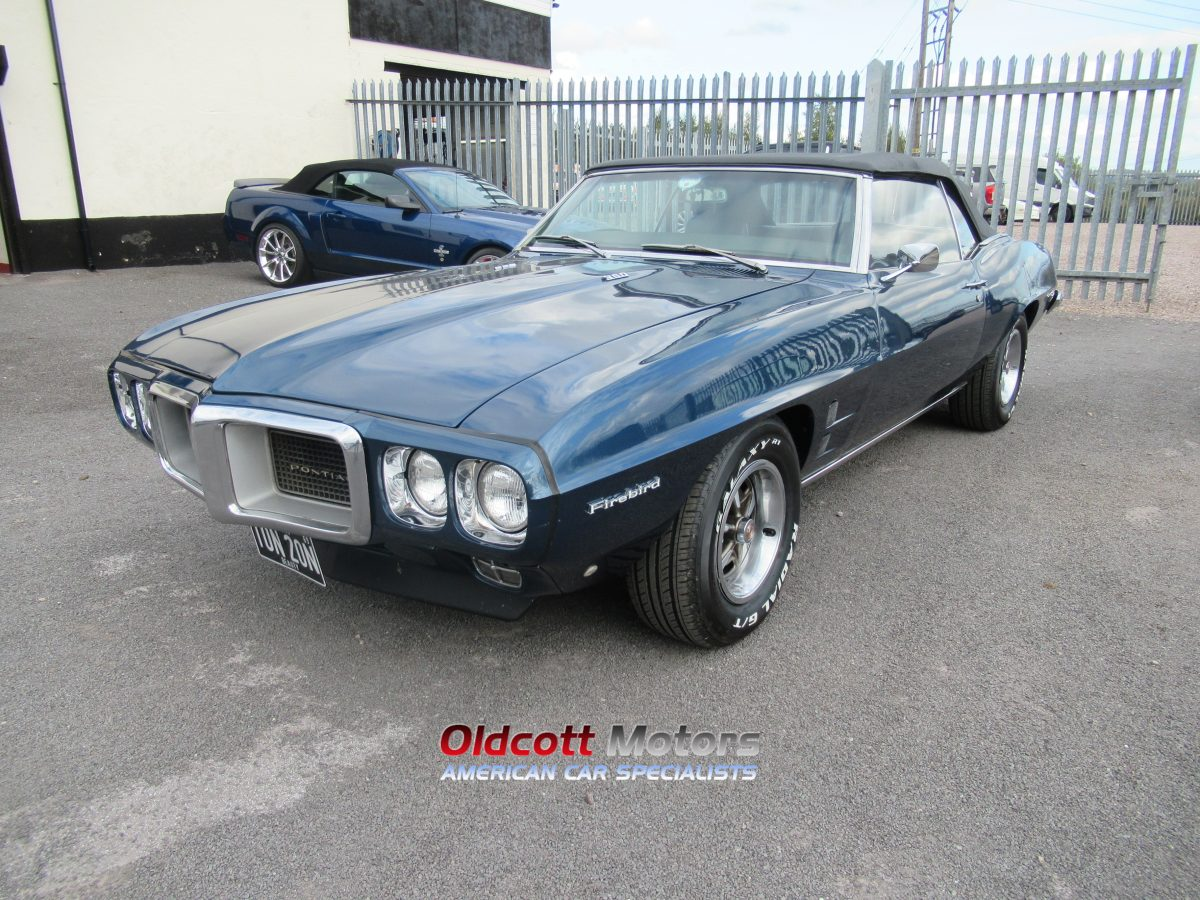 1967 PONTIAC FIREBIRD 350  4 SPEED MANUAL