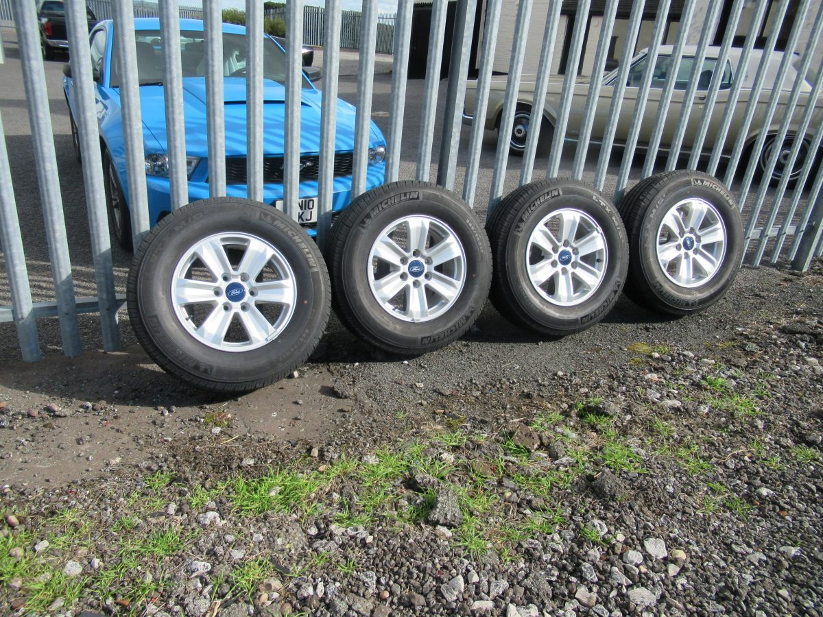 FORD F150 6 STUD WHEELS AND TYRES