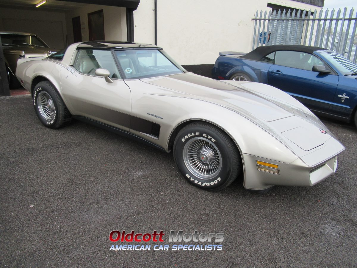 1982 CHEVROLET CORVETTE CROSSFIRE
